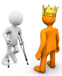 The King and the Cripple Boy