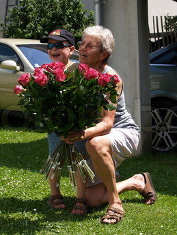 Flowers for Grandma