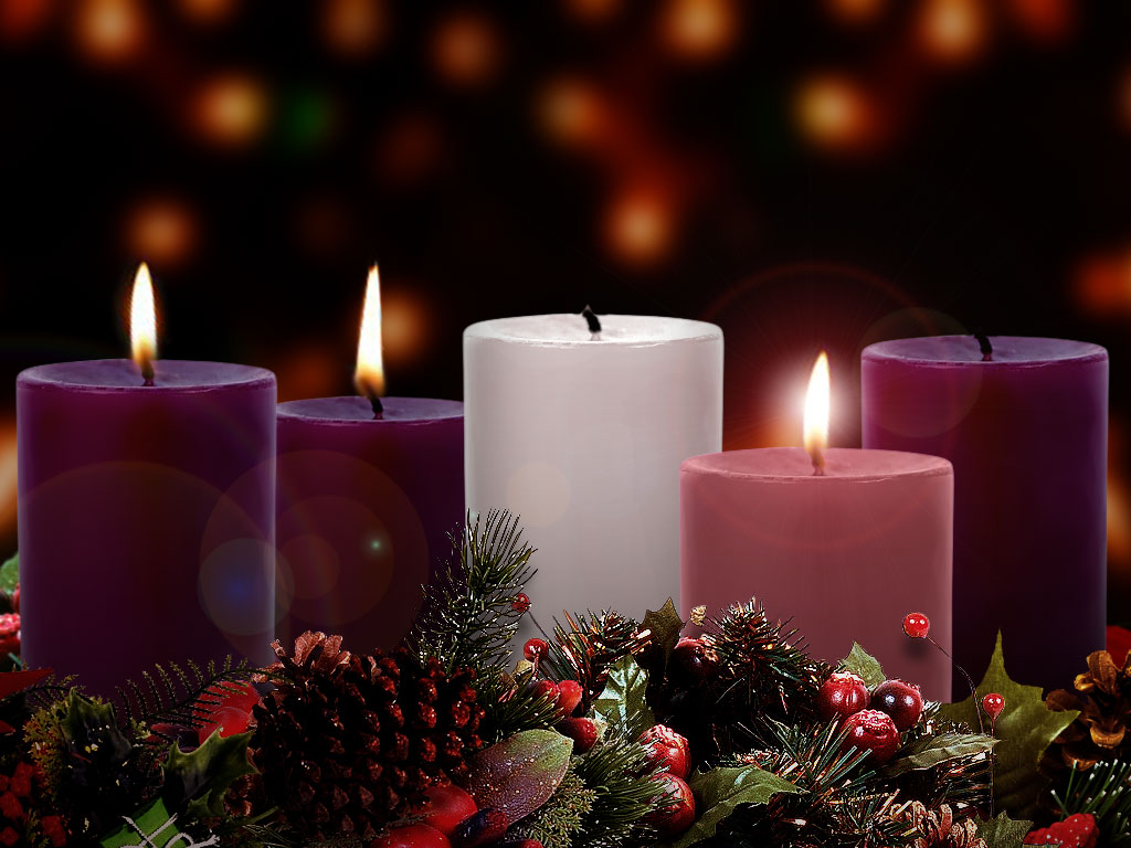 Advent Candle Pic